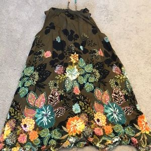 LOFT Dresses - Floral mini dress